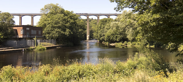 Things to do in North Wales: Hike to the river below Pontcysyllte Aqueduct