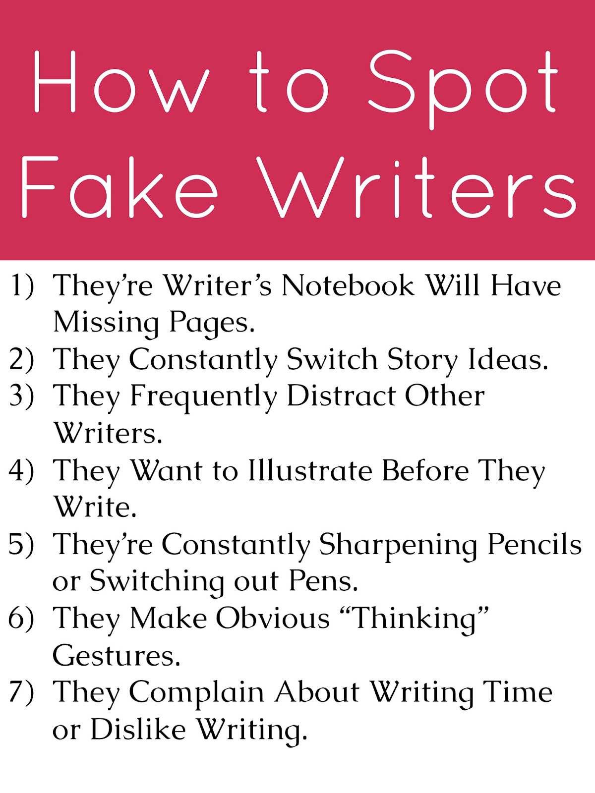AppleSlices: How To Spot Fake Writers