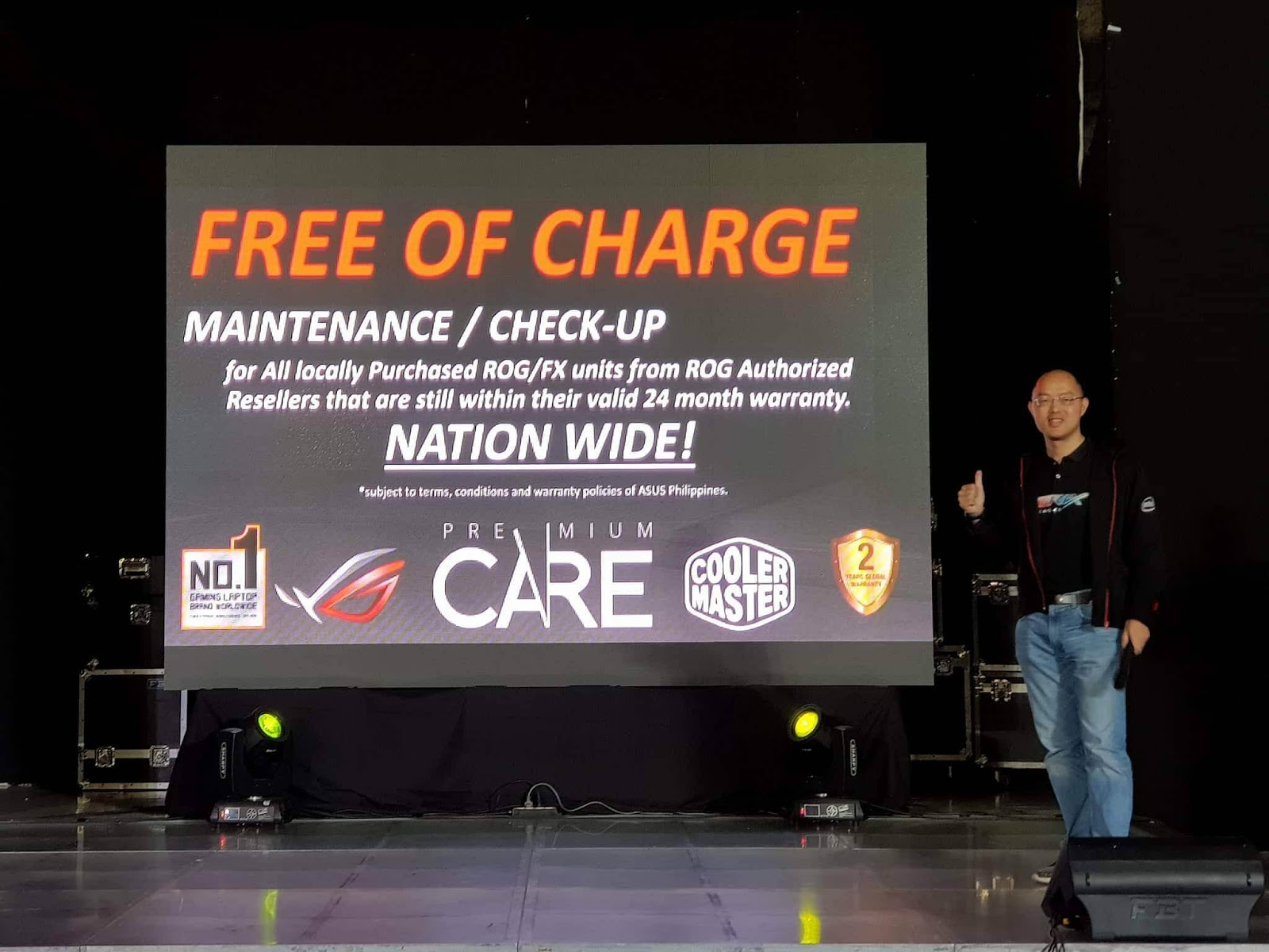 ASUS Philippines Introduces ROG Premium Care Free Maintenance Service