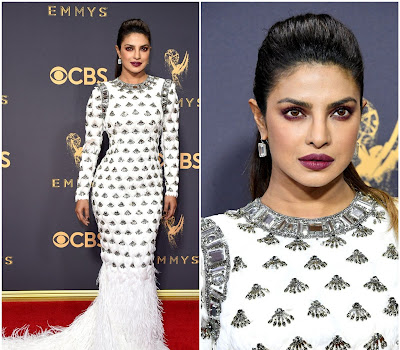 Primetime Emmy Awards 2017: Priyanka Chopra In Balmain