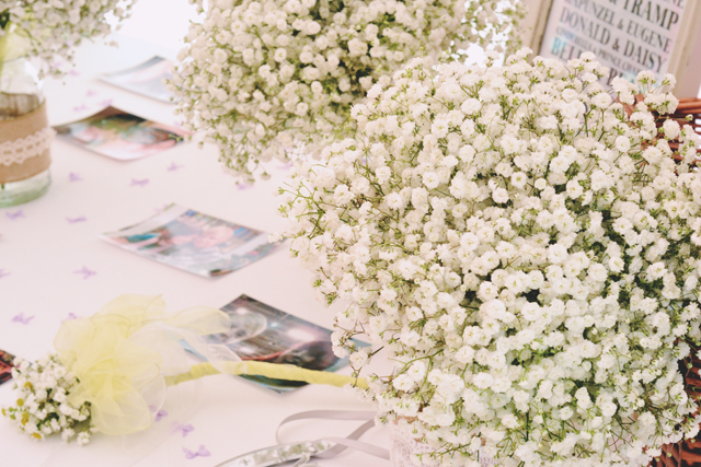 Gypsophilia Bouquets Wedding