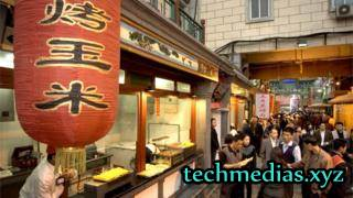 Live streams from restaurants were available to watch via the Qihoo site