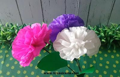 Cara Mudah Membuat Bunga yang Indah dari Kertas Krep