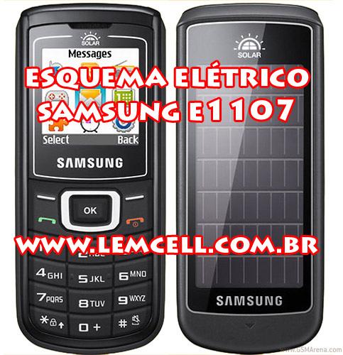 lemcell tutoriais esquema el trico celular smartphone samsung e1107 rh lemcell com br Samsung ManualsOnline Samsung Manual PDF