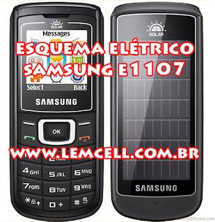 Esquema Elétrico Celular Smartphone Samsung E1107 Manual de Serviço  Service Manual schematic Diagram Cell Phone Smartphone Samsung E1107