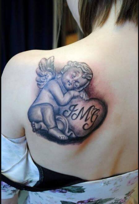 beautiful Angel Tattoos