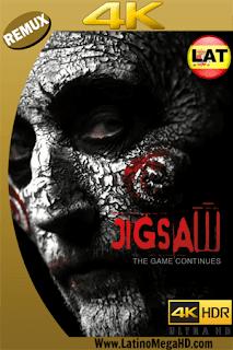 Jigsaw: El Juego Continúa (2017) Latino Ultra HD 4K BDREMUX 2160P - 2017