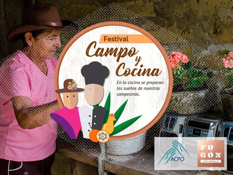 Invitación abierta al festival gastronómico, popular y campesino, 'Campo y Cocina'