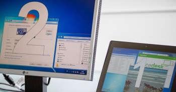 Come usare lo schermo del tablet o del portatile come ...