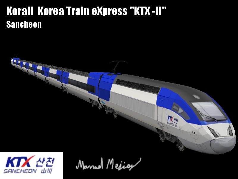 High Speed Trains OpenBVE: KoreaTrainXPress KTX