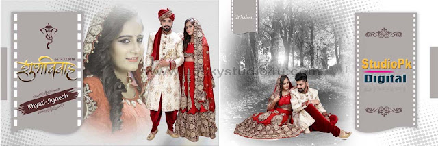 Indian Wedding Album Design