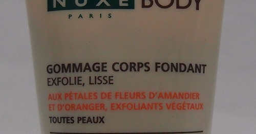 Review: Nuxe Fondant Exfoliating Body Scrub