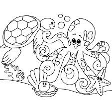 Cute Ocean Coloring Pages Online Download For Free