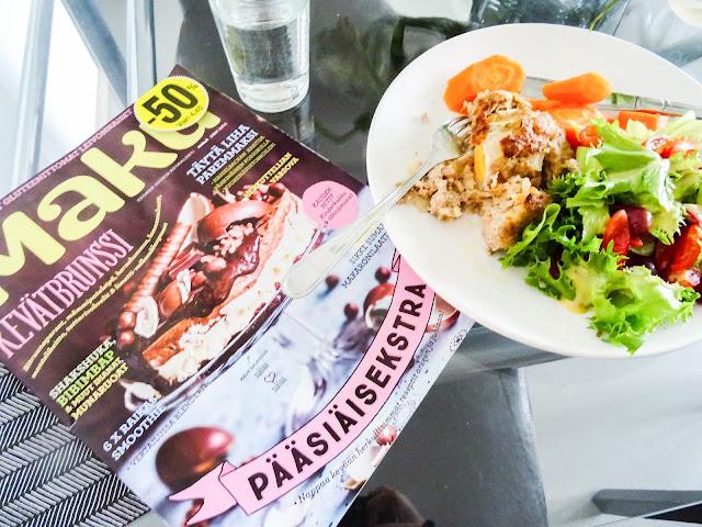 Ruuanlaitto | Ruoka | Stokcmann Casa astiat | Maku lehti | Munalihapullat ja keitetyt porkkanat