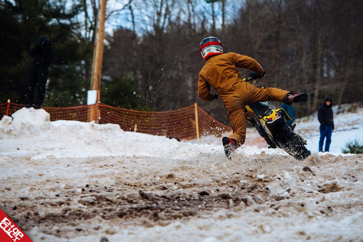 chopcult: january 27,2018 - moto jam winter race - monticello, ny