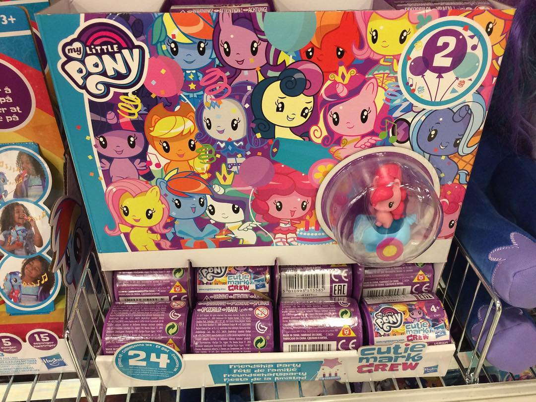 Cutie Mark Crew Series 2 Blind Bags Spotted In Denmark