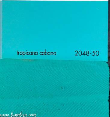Benjamin Moore Tropicana Cabana