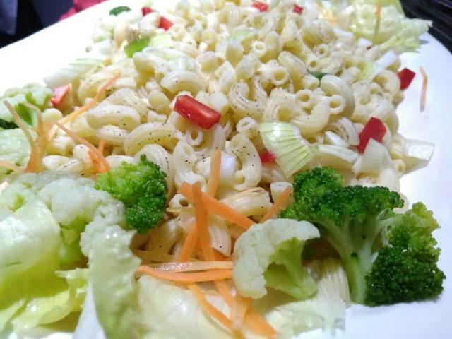 makanan penutup, macaroni salad