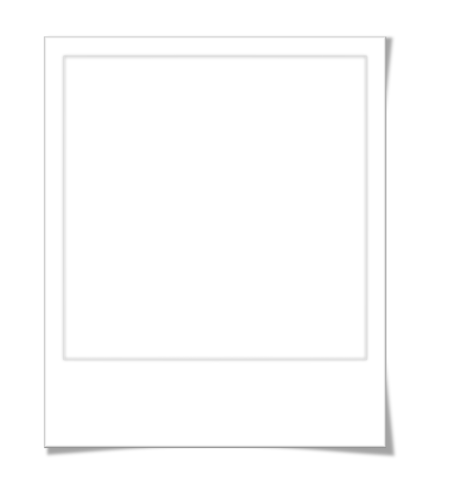 blank polaroid background - HD1477×1600