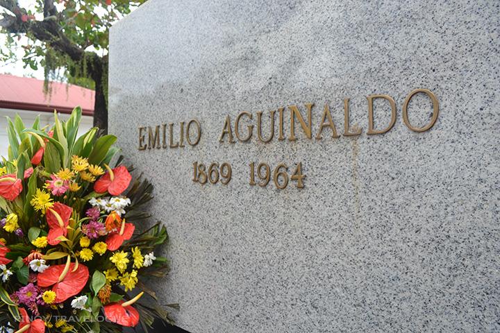 Aguinaldo's tomb