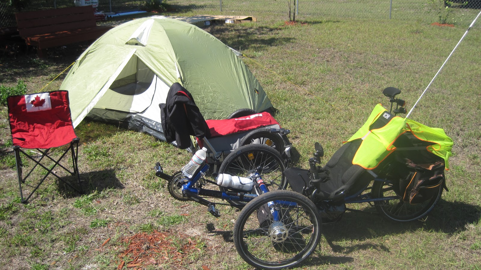 Recumbent Trike Touring