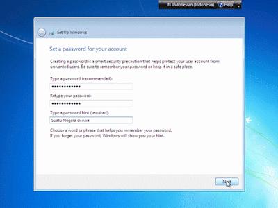 Cara Mudah Menginstall Windows 7 Lengkap