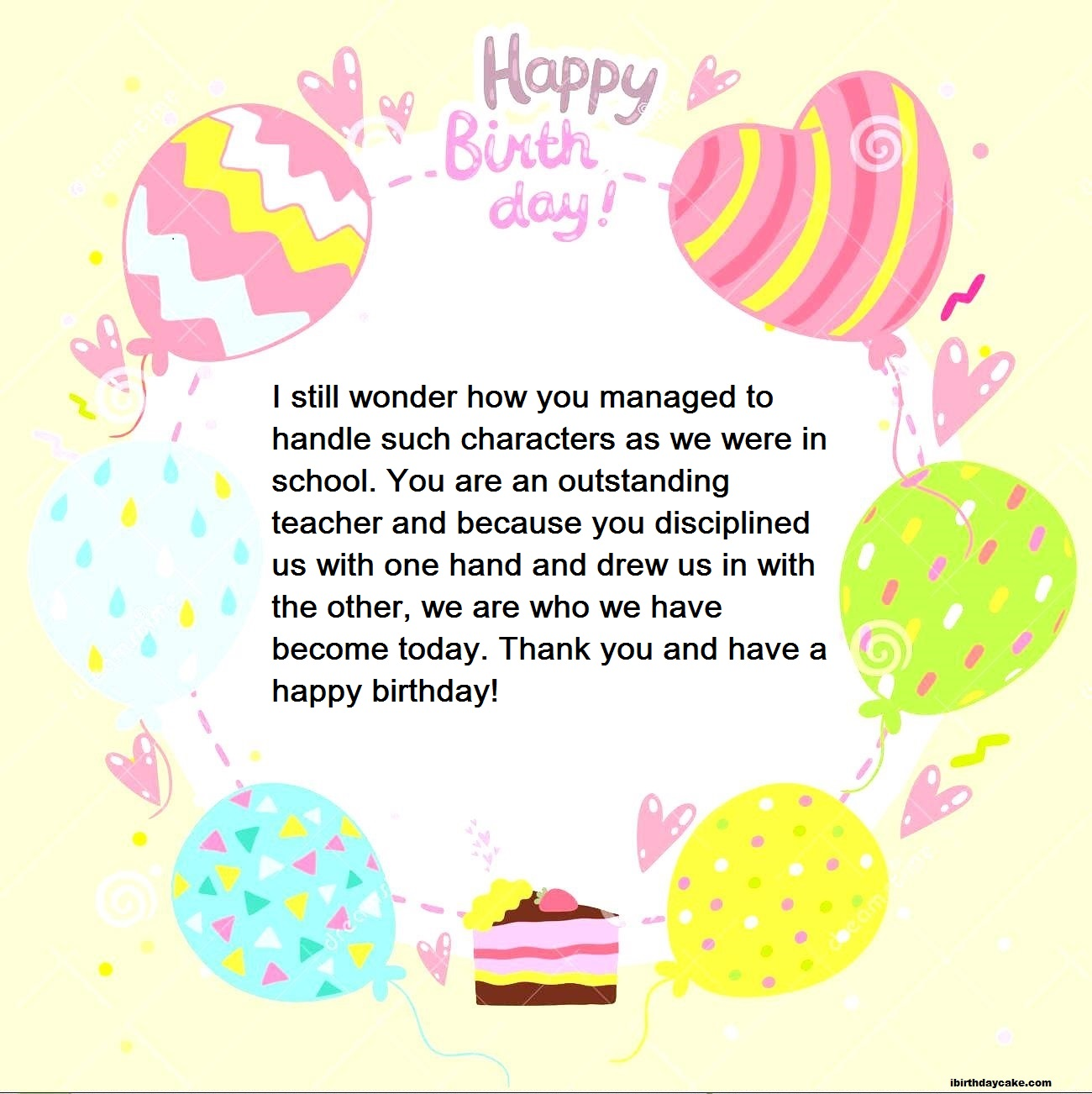 100+ Best Happy Birthday Wishes To Teacher (2019
