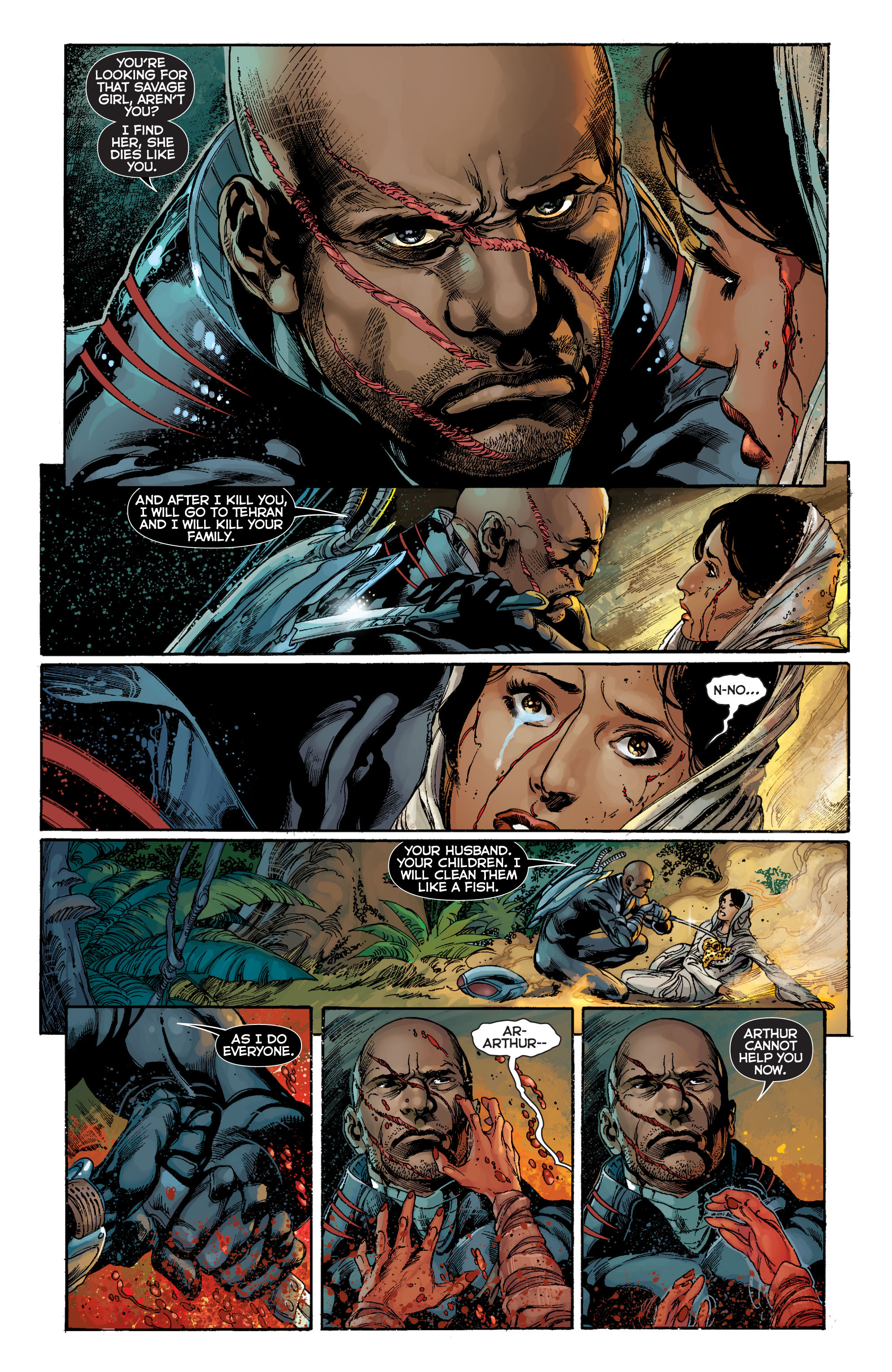 Read online Aquaman (2011) comic -  Issue #7 - 10