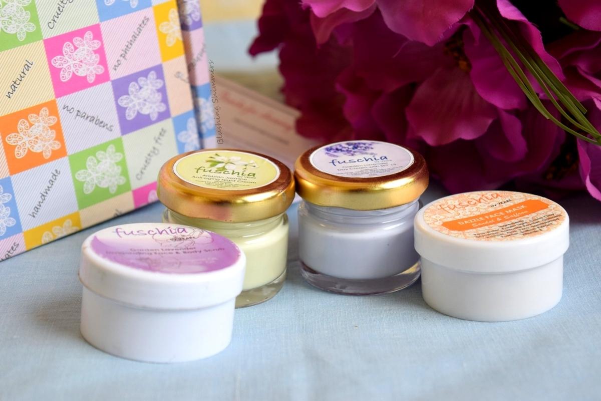 Fuschia by Vkare:Organic Skin Care Brand Review