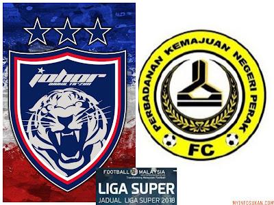 Live Streaming JDT FC vs PKNP FC Liga Super 6 Februari 2018