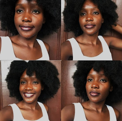 Natural Hairstyles For A #NOHEAT Challenge