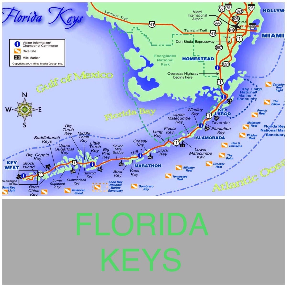 we took six wonderful days traveling from key west to miami