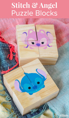 stitch and angel crafts