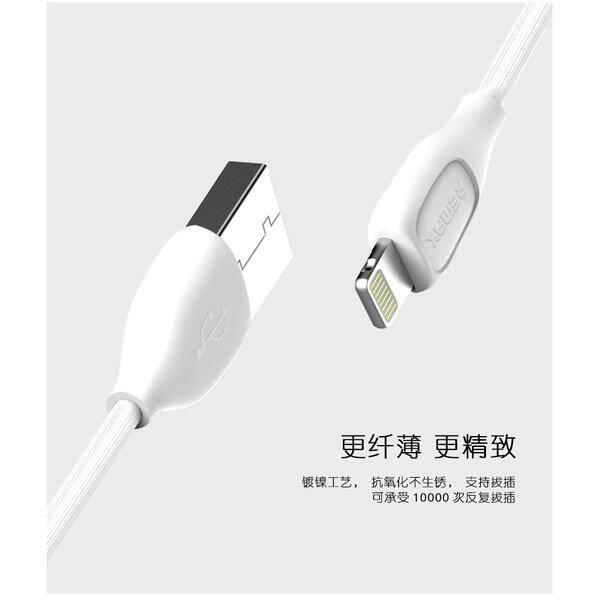 KABEL REMAX LESU Lightning iPhone 5 dan 6