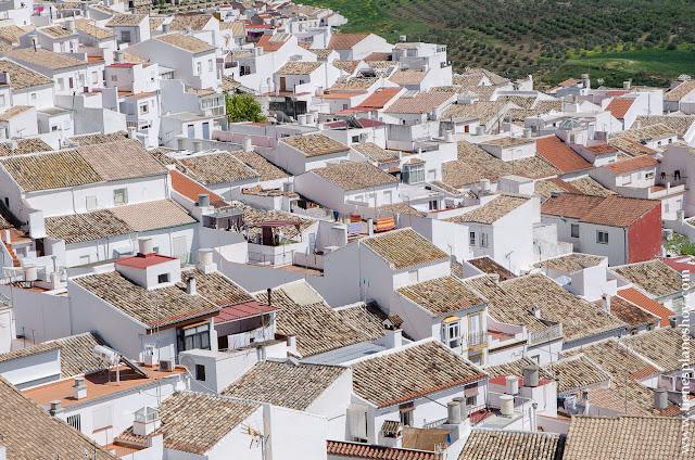 Olvera Pueblos Blancos Andalucia Sierra Grazalema