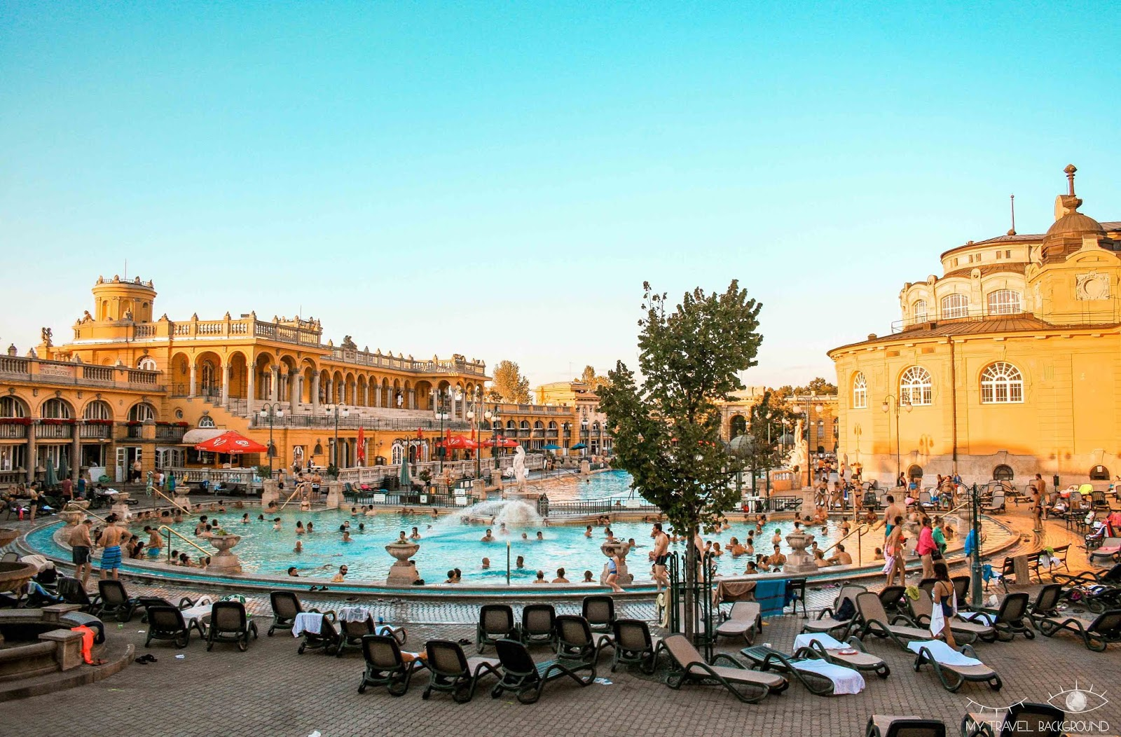 My Travel Background : 1 week-end à Budapest en Hongrie - Les bains Szechenyi