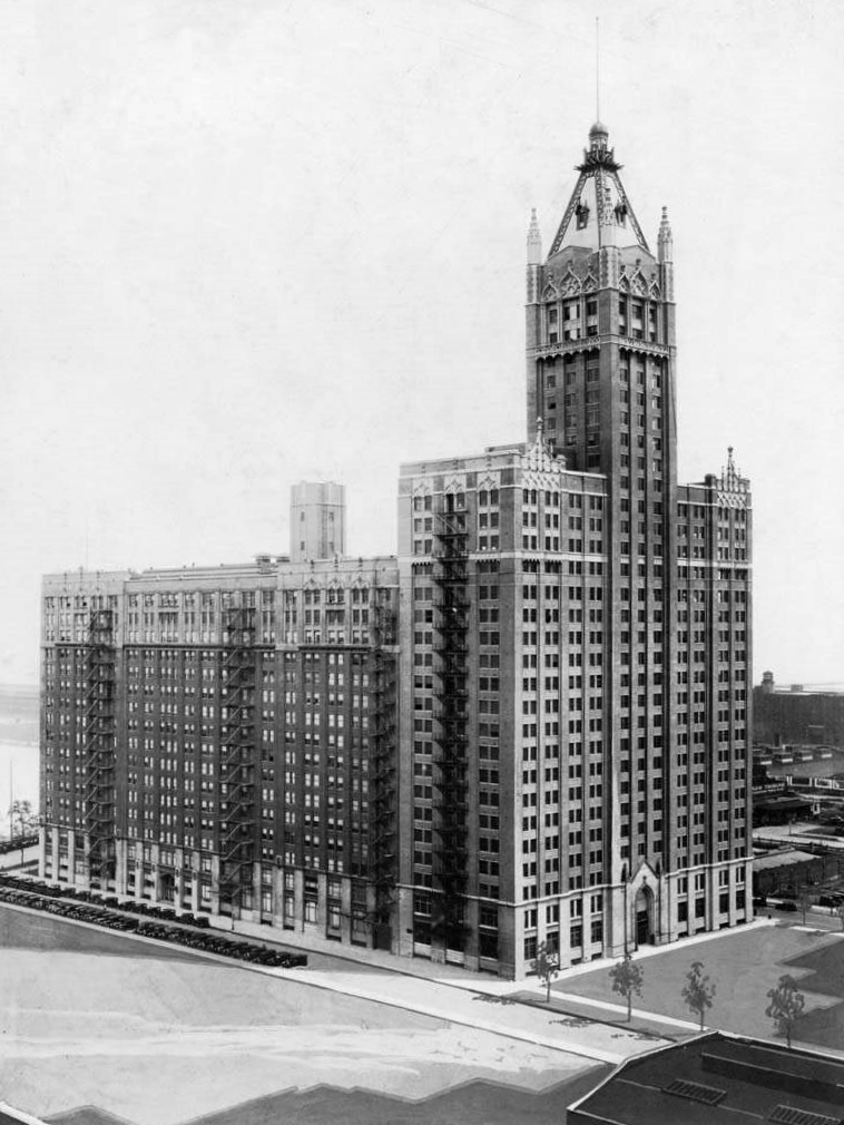 May 2 1923 American Furniture Mart Is Announced Connecting The