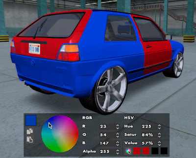 gta sa san tuning mod v3 color rgb paint