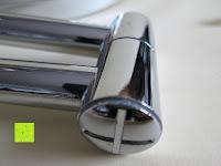 Glanz: Jeking 8 Inch Spiegel Doppelseitiger 1-Fach /10-Fach Vergrößerung Chrom Schlafzimmer Wand Kosmetikspiegel