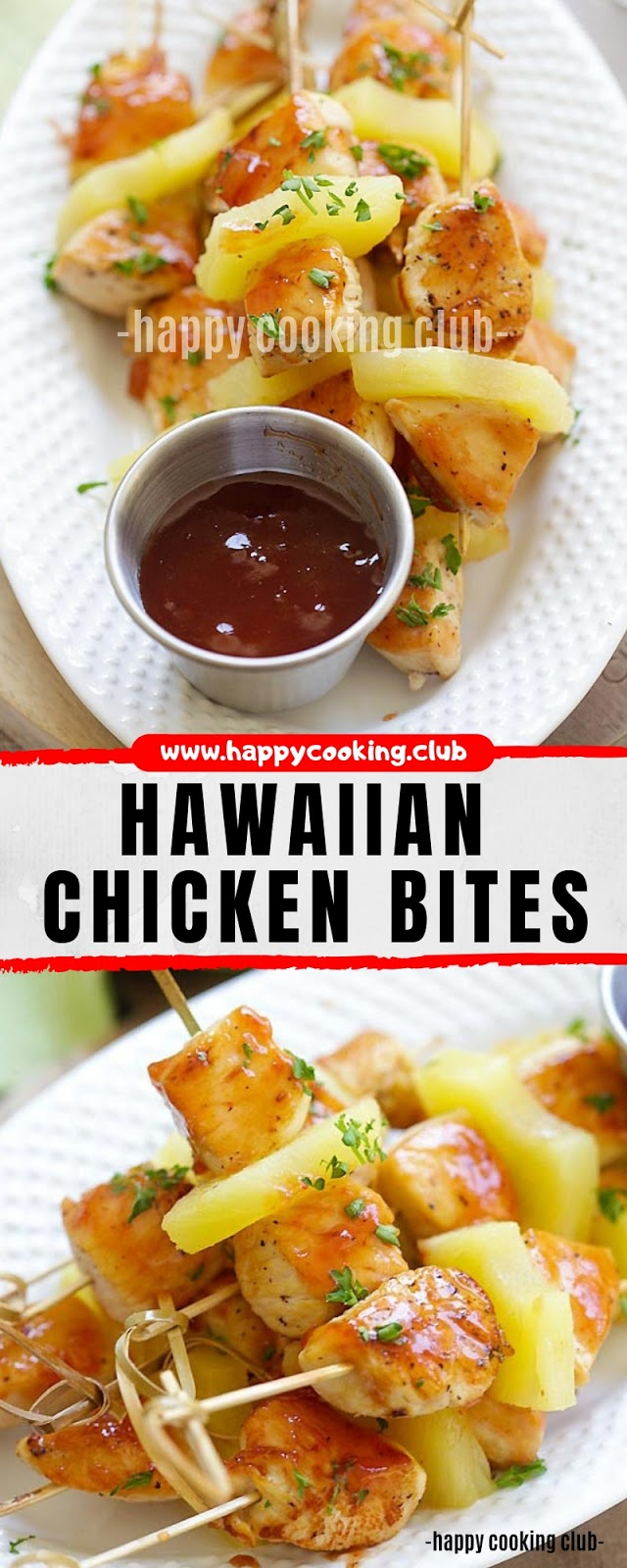HAWAIIAN CHICKEN BITES