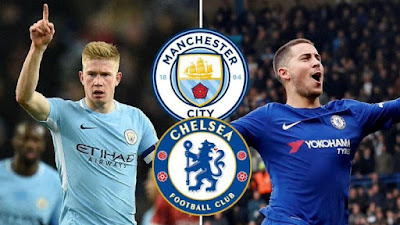 Live Streaming Chelsea vs Manchester City Community Shield 5.8.2018