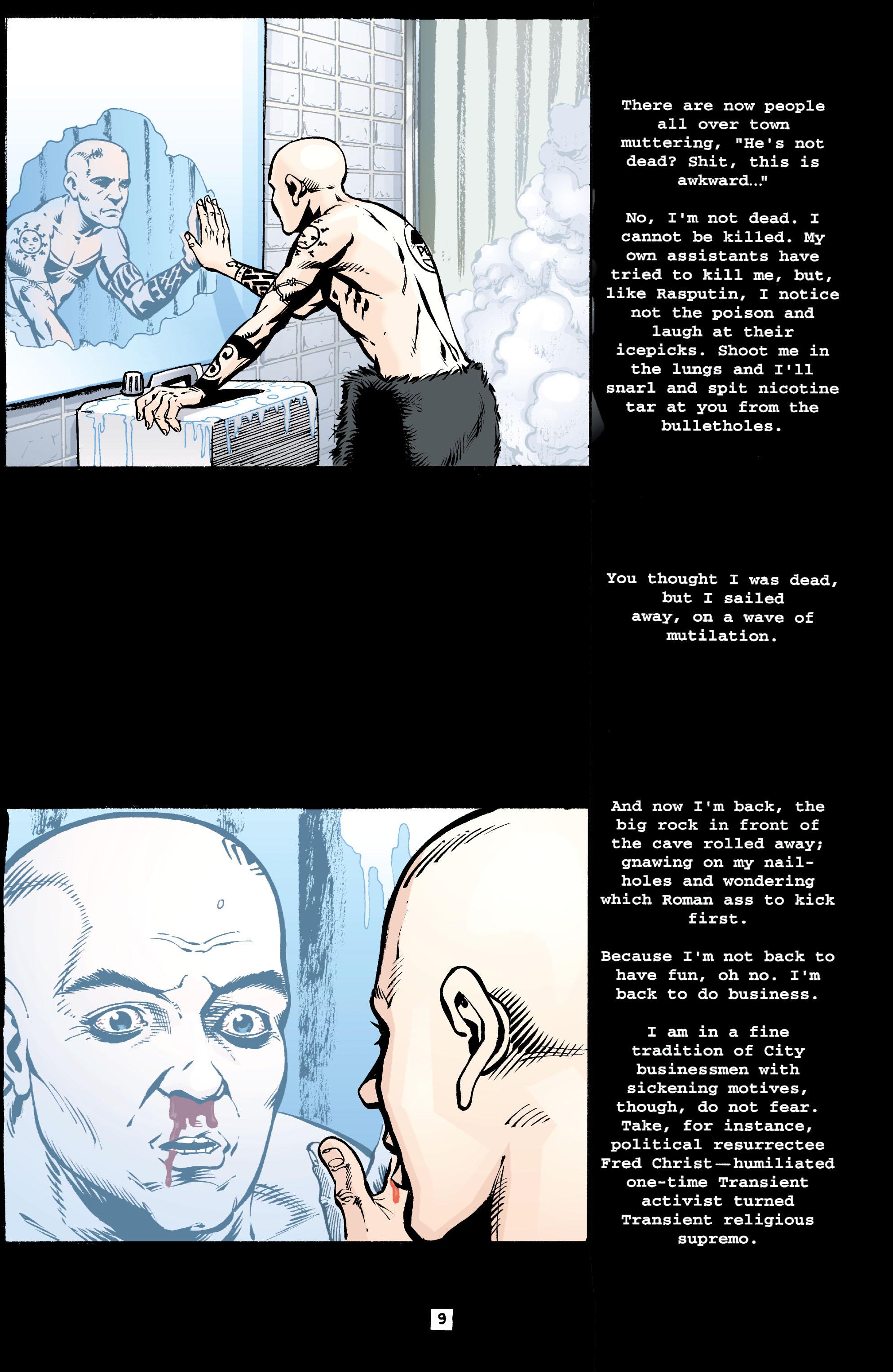 Read online Transmetropolitan comic -  Issue #39 - 10