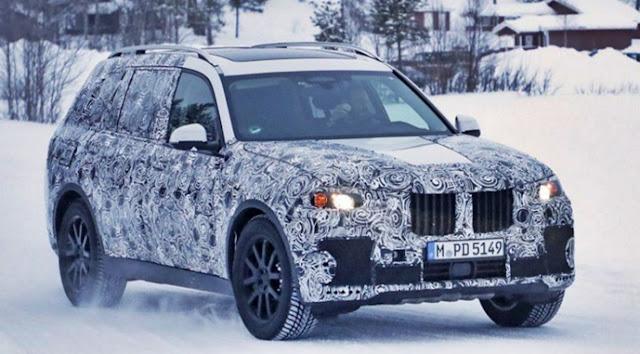 2017 BMW X7 Concept, SUV, Review, Pictures, Colors, Specs