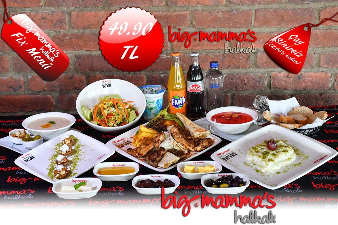 big mamma menu