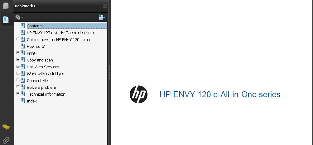 Envy 120 Printer manual