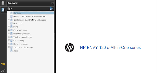 HP ENVY 120 Manual