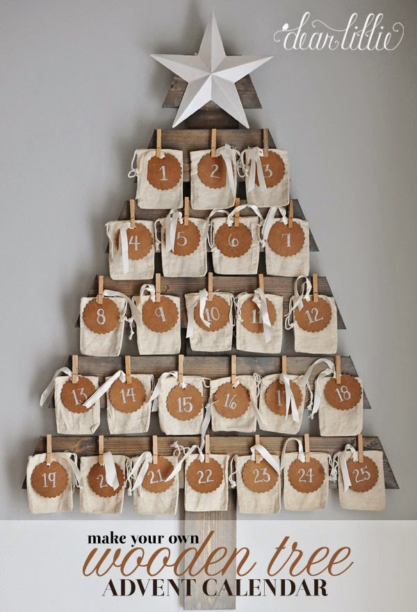 Diy Wooden Advent Calendar : The ultimate list of diy christmas ideas