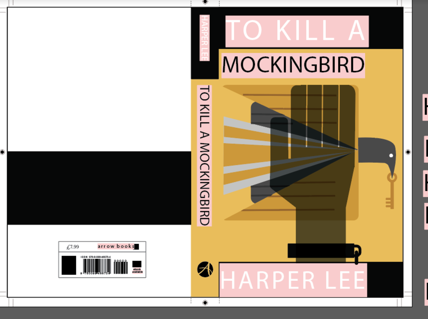Penguin Book Cover competition-To Kill a Mockingbird To Kill A Mockingbird Jem Drawing