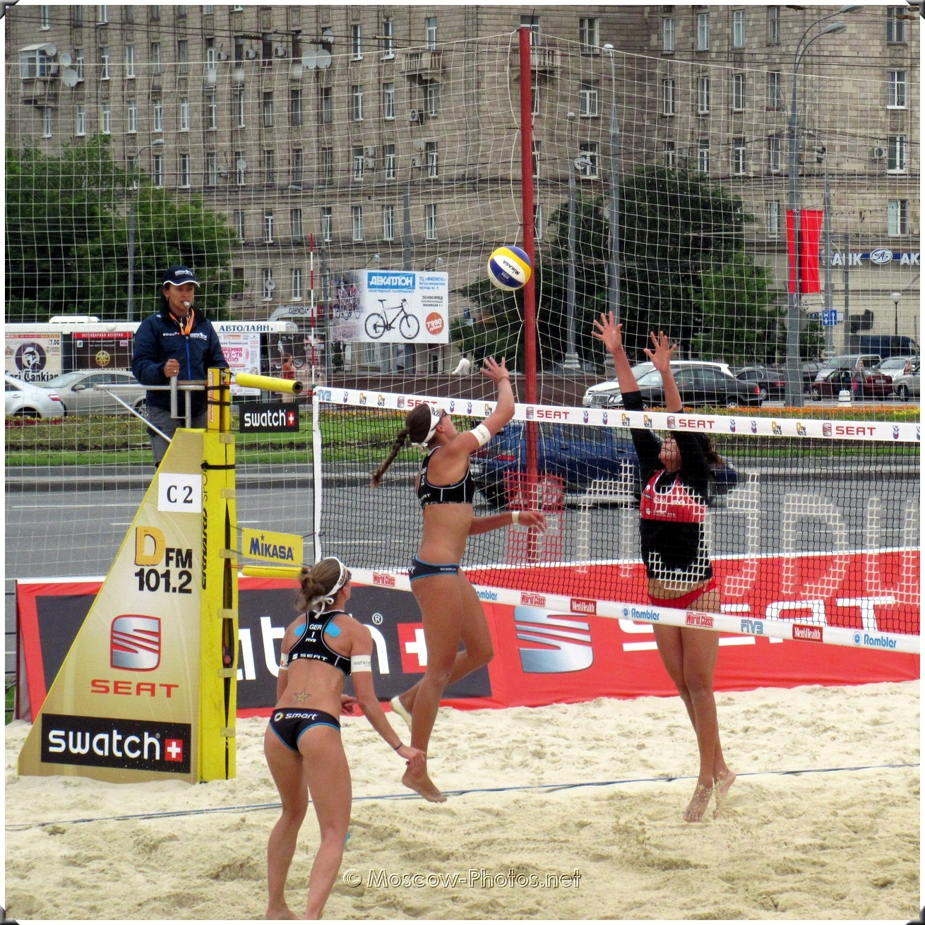 Moscow Grand Slam Beach Volleyball World Tour 2010