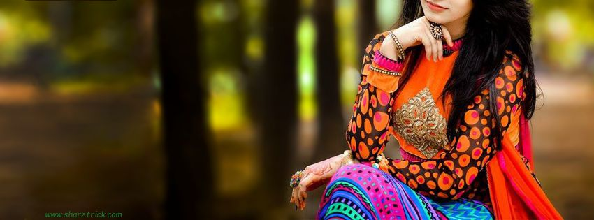 Girls With Stylish Salwar Facebook Cover Picture is one of the coolest timeline banner photos for girls and their FB accounts plus other Social Profiles